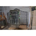 220-pr wrought iron gates 1940's