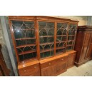 Mahogany 19th c english bookcase