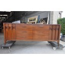 238-1960's walnut sideboard