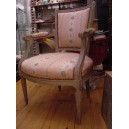 32- Pr Louis XV chairs ( period )